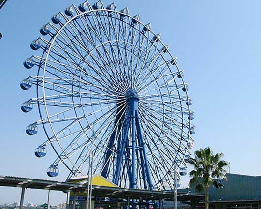 height of a ferris wheel