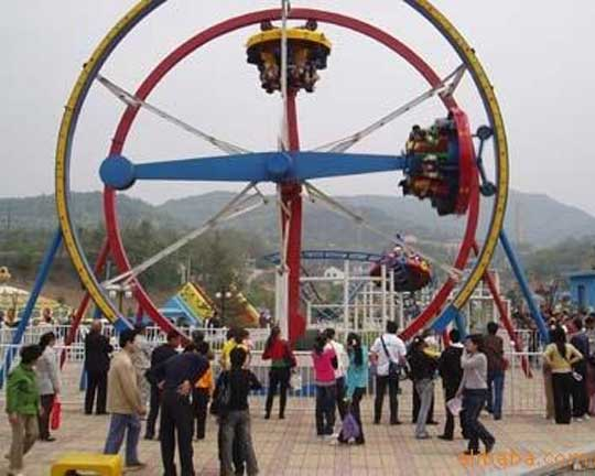 Ferris ring car thrilling rides for sale
