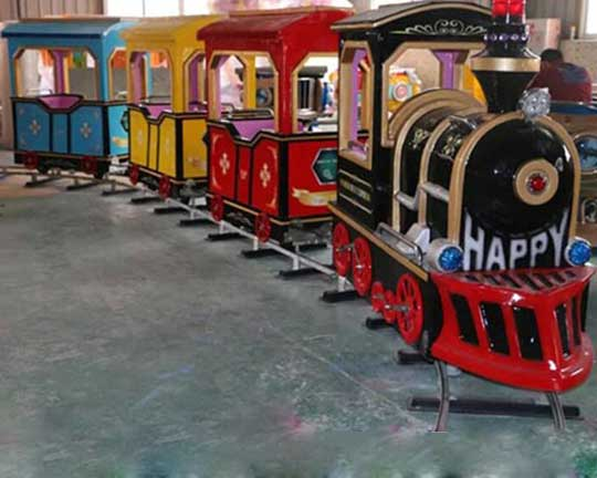 carnival train rides with track for sale