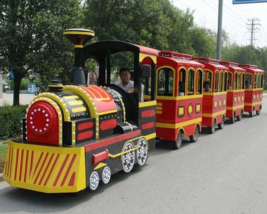 best selling carnival trackless train rides for sale cheap