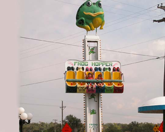 best selling frog hopper amusement rides from China