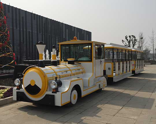 top amusement trackless train manufacturer and supplier