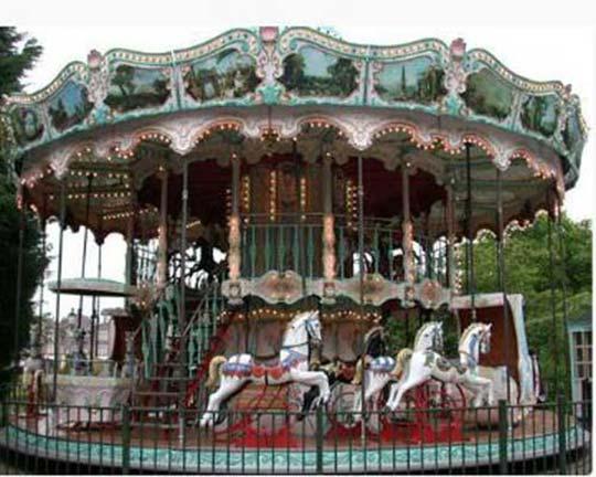 carousel fairground ride supplier