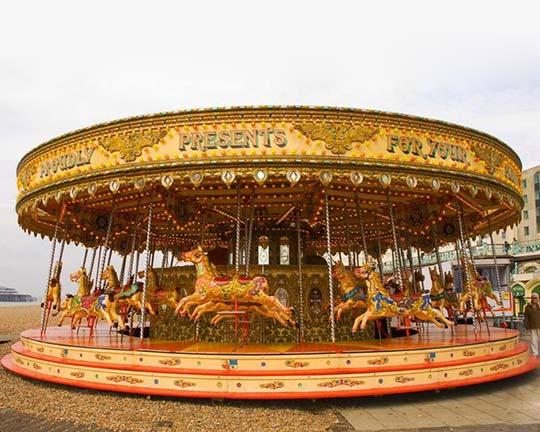 Goldlion Hot Sale Carousel Amusement Rides Cheap