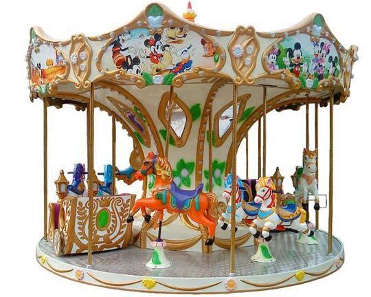 kiddie grand carousel rides manufacturer