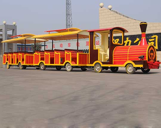 Goldlion - a top and professional trackless train supplier