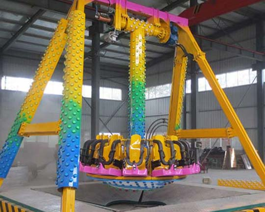BAR-DBC16 Giant Spinning Pendulum Thrill Rides in Goldlion Cheap