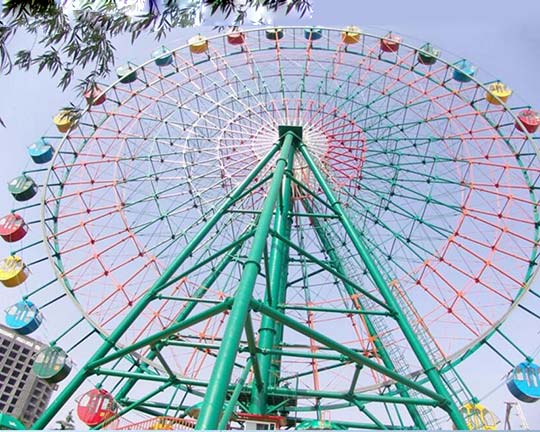 image of a ferris wheel