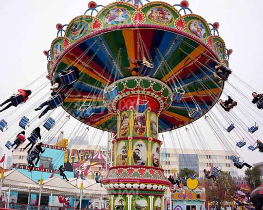 BAR-FY32a Goldlion Amusement Park Swing Chair Rides for Sale