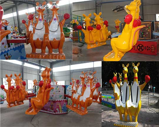 quality kangaroo jump rides in factory